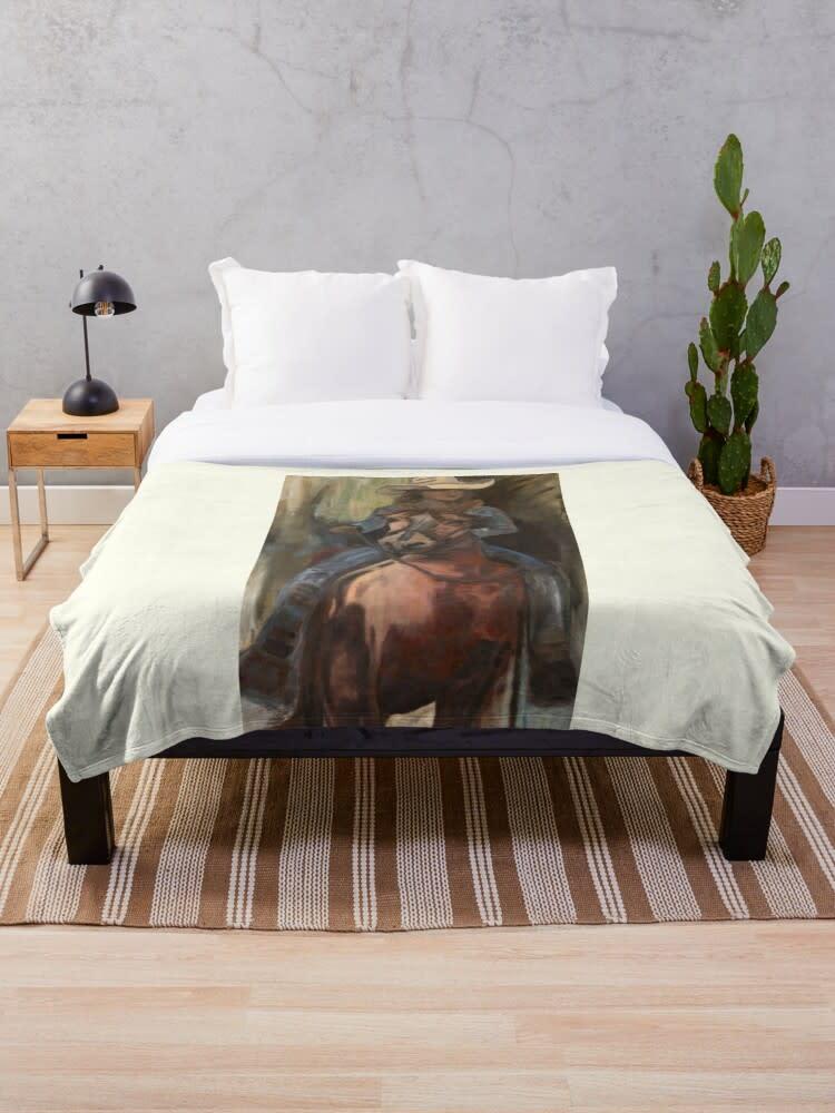 ivory throw blanket 2