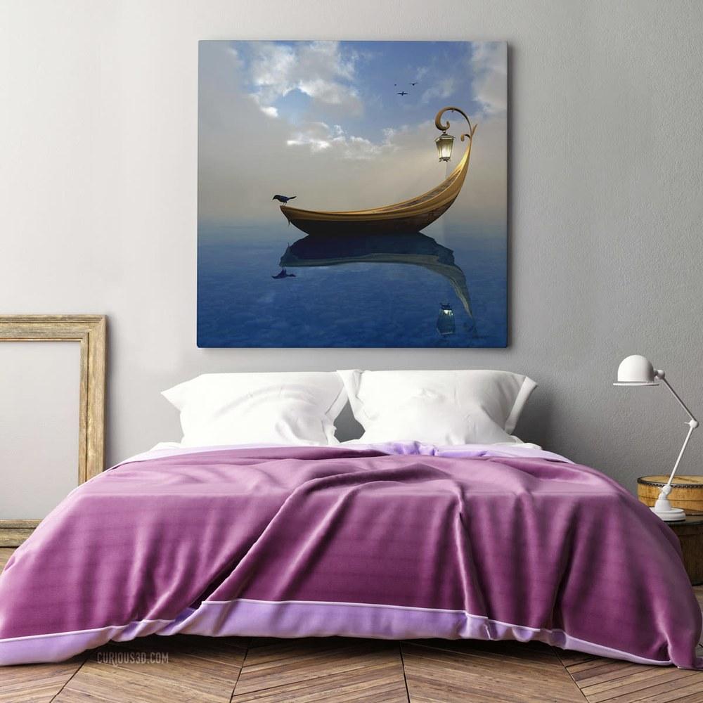 Narcissism violet bed