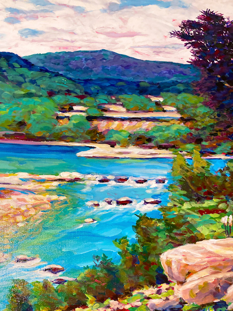 Hill River detail