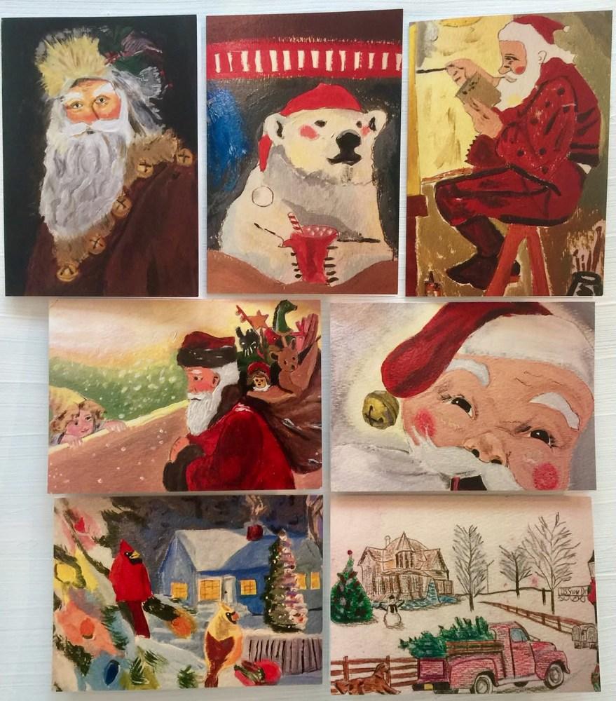 Christmas Card Set of 7