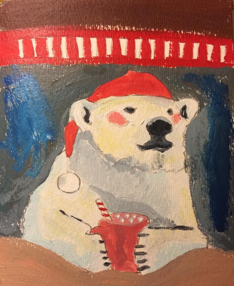 Polar Bear Cocoa   300 dpi