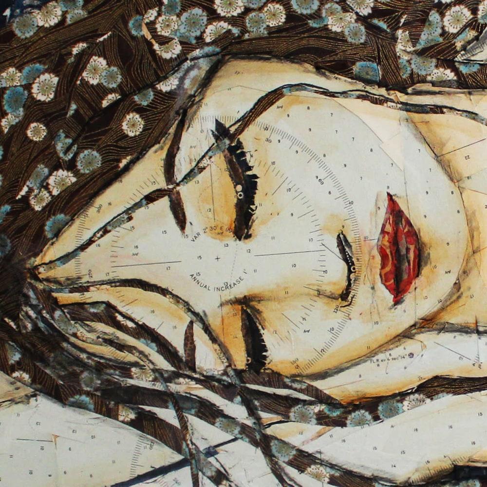 Sleeping Beauty Closeup 1