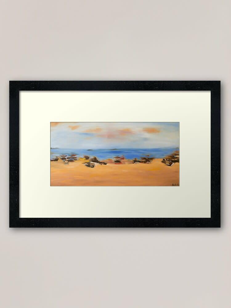 Driving 63761249 framed art print