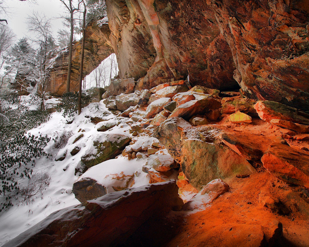 Gray's Arch Snowmageddon 16 x 20