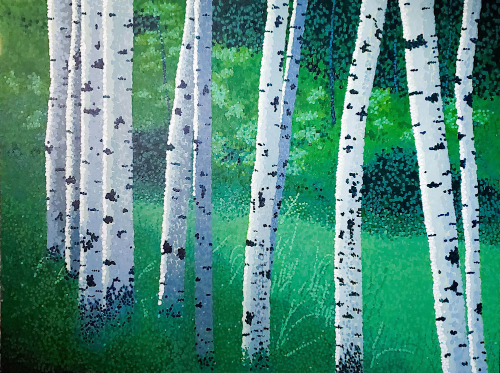 Pescottt Woodland Friends2 48x36