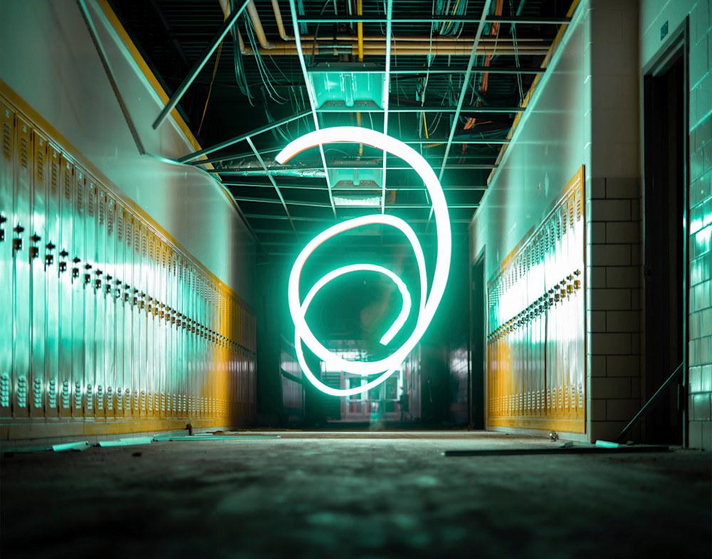 Green Light 11x14 Epson Luster