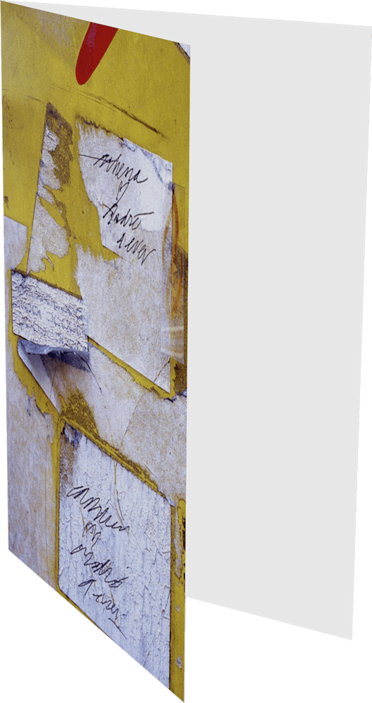 CLOSER NY ATHENA LOVES ANDRE ACNY856 abstract photography Sherry Mills PRINT GREETING CARD 2