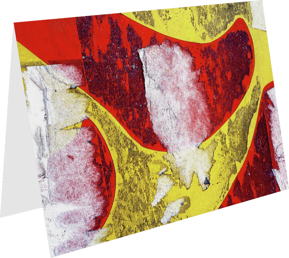 CLOSER NY HAPPY DAY ACNY1960 abstract photography Sherry Mills PRINT 3 GREETING CARD 1