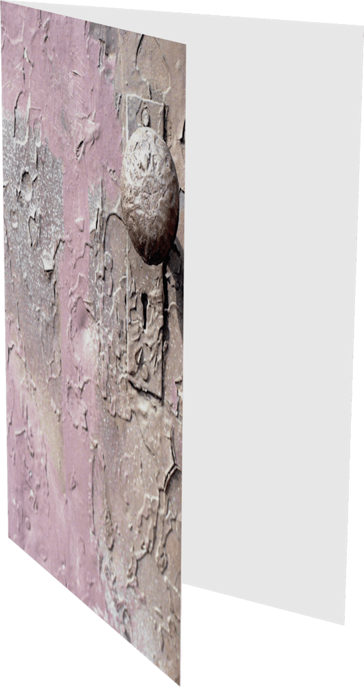 CLOSER NY PINK DOORKNOB ACNY2247 abstract photography Sherry Mills PRINT GREETING CARD 2