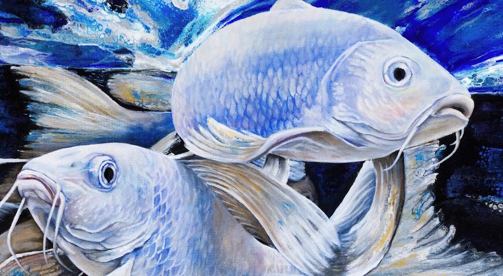 Fish Shoal of Light detail1