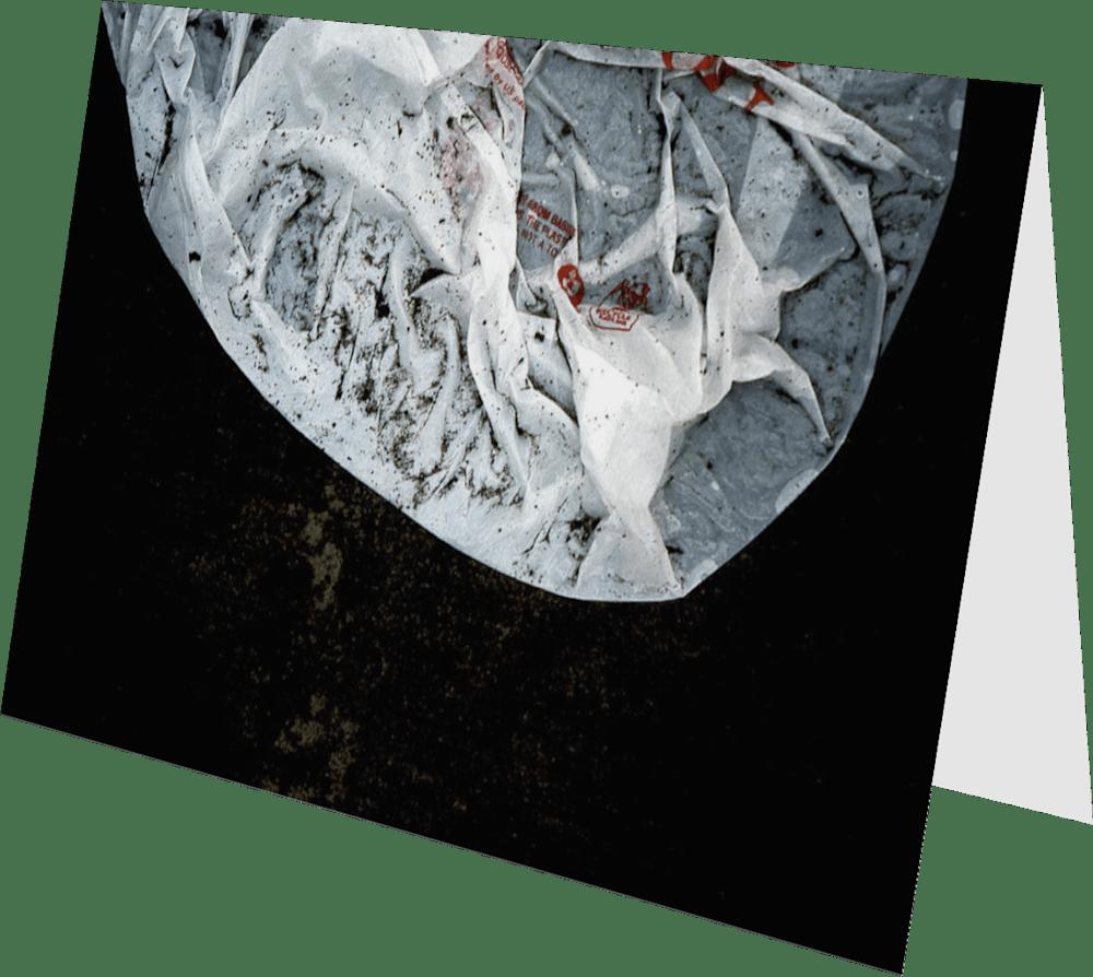 CLOSER NY BAG HEAD ACNY435 abstract photography Sherry Mills PRINT 3 GREETING CARD 2