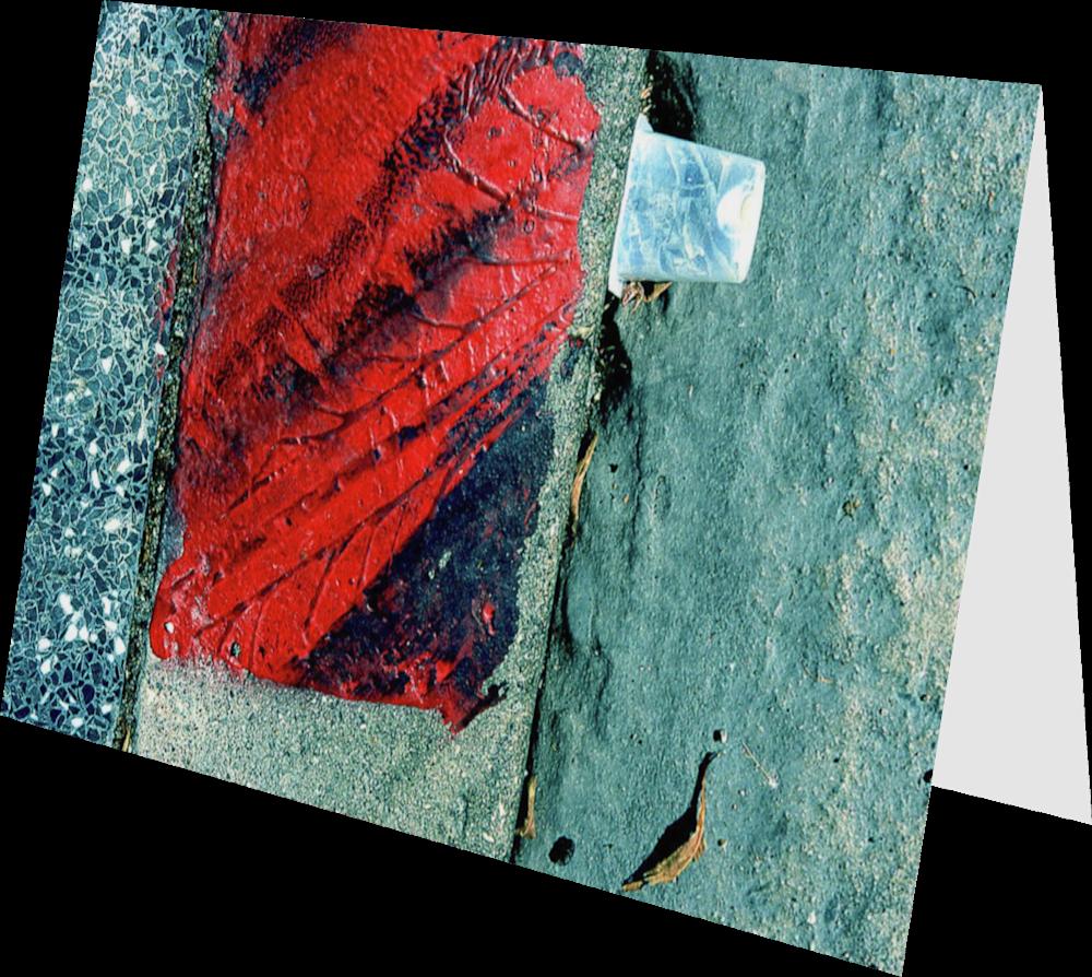 CLOSER LA HOLLYWOOD BOULEVARD LA091 abstract photography Sherry Mills PRINT GREETING CARD 2