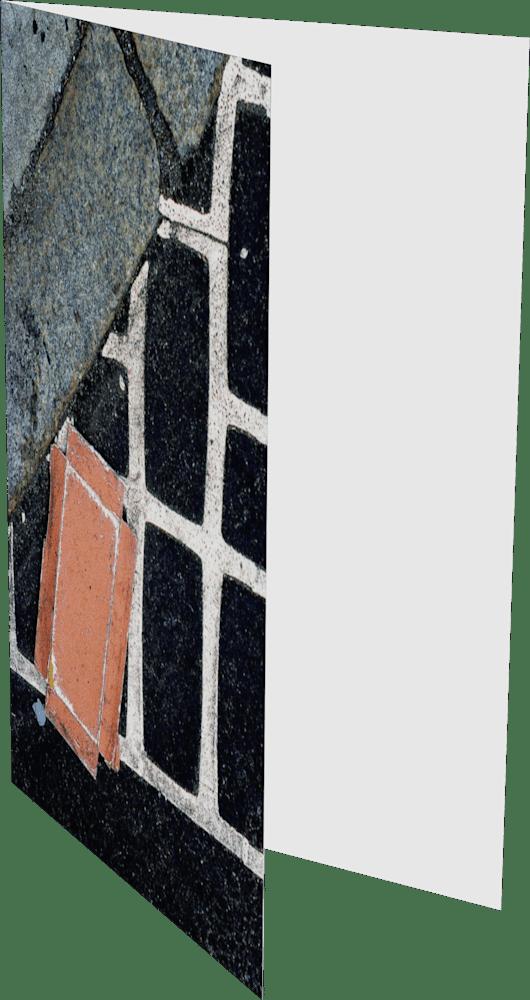 CLOSER NY GRID CARTON ACNY2190 abstract photography Sherry Mills PRINT 2 GREETING CARD 2