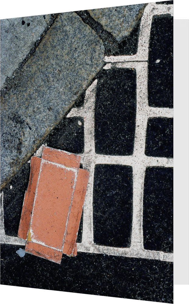 CLOSER NY GRID CARTON ACNY2190 abstract photography Sherry Mills PRINT 2 GREETING CARD 1