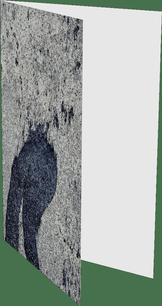 CLOSER NY WOODSTOCK TAR ACNY027 abstract photography Sherry Mills PRINT 2 GREETING CARD 2