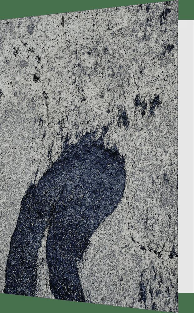 CLOSER NY WOODSTOCK TAR ACNY027 abstract photography Sherry Mills PRINT 2 GREETING CARD 1