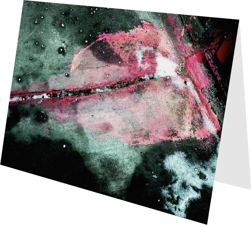 CLOSER NY GROVE STREET PINK ACNY2186 abstract photography Sherry Mills PRINT 4 GREETING CARD 2