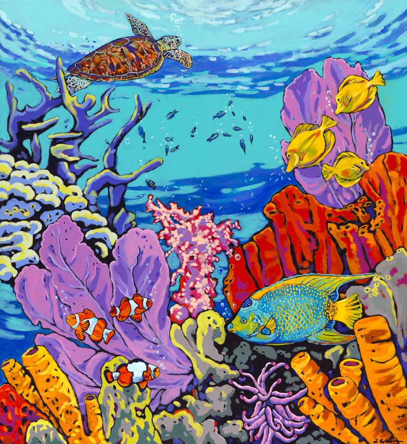 Reef Giclee