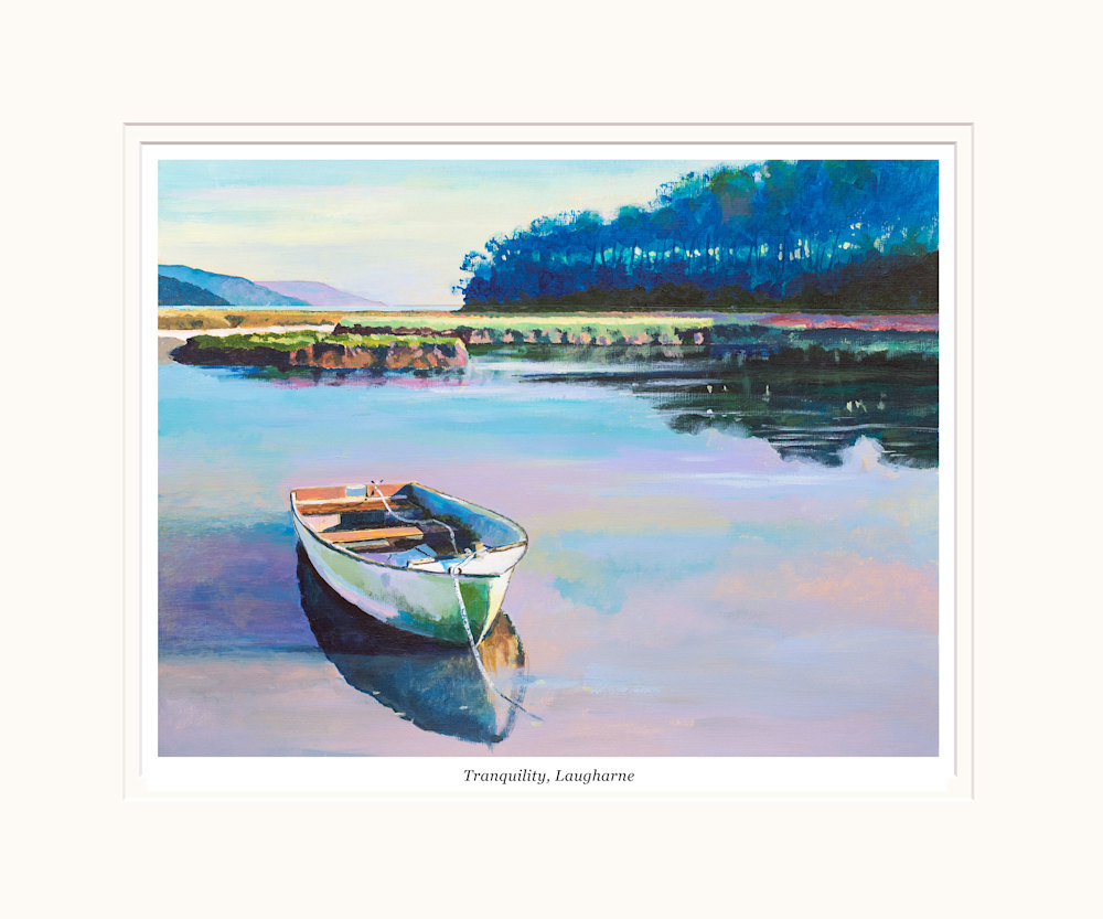 tranquility, Laugharne