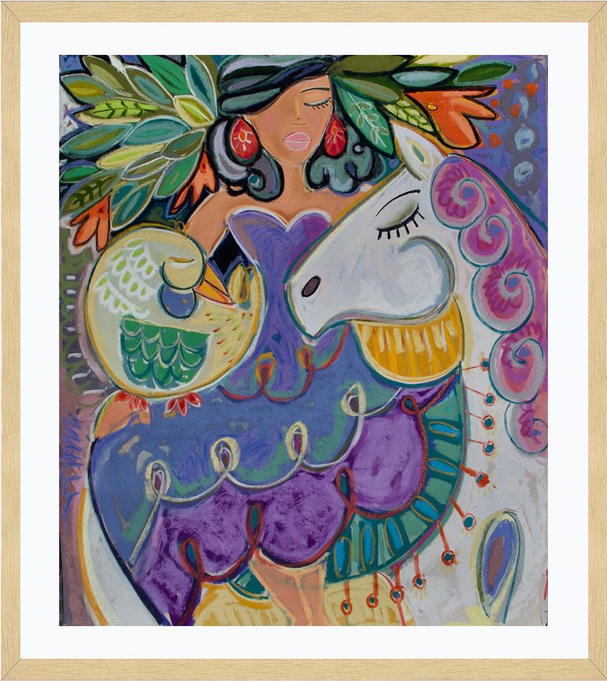 dancing horses frame