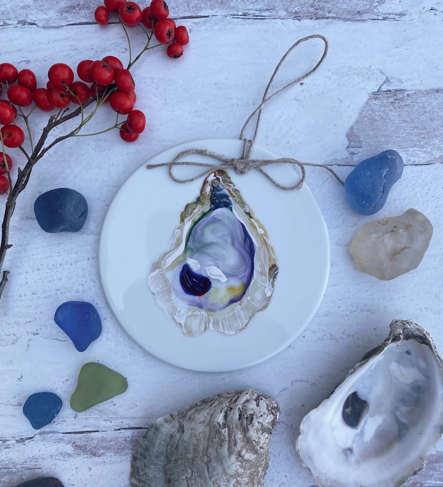 oyster shell ornament 5