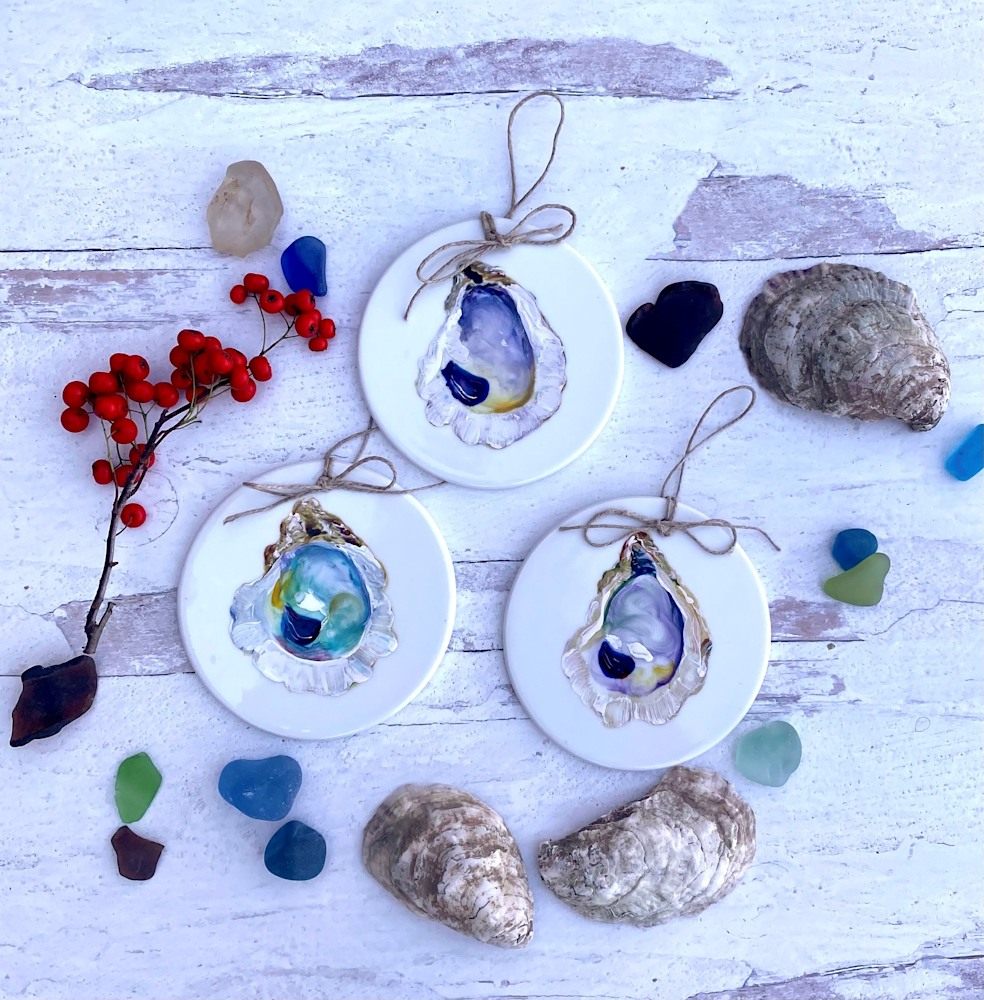 oyster shell ornament 8