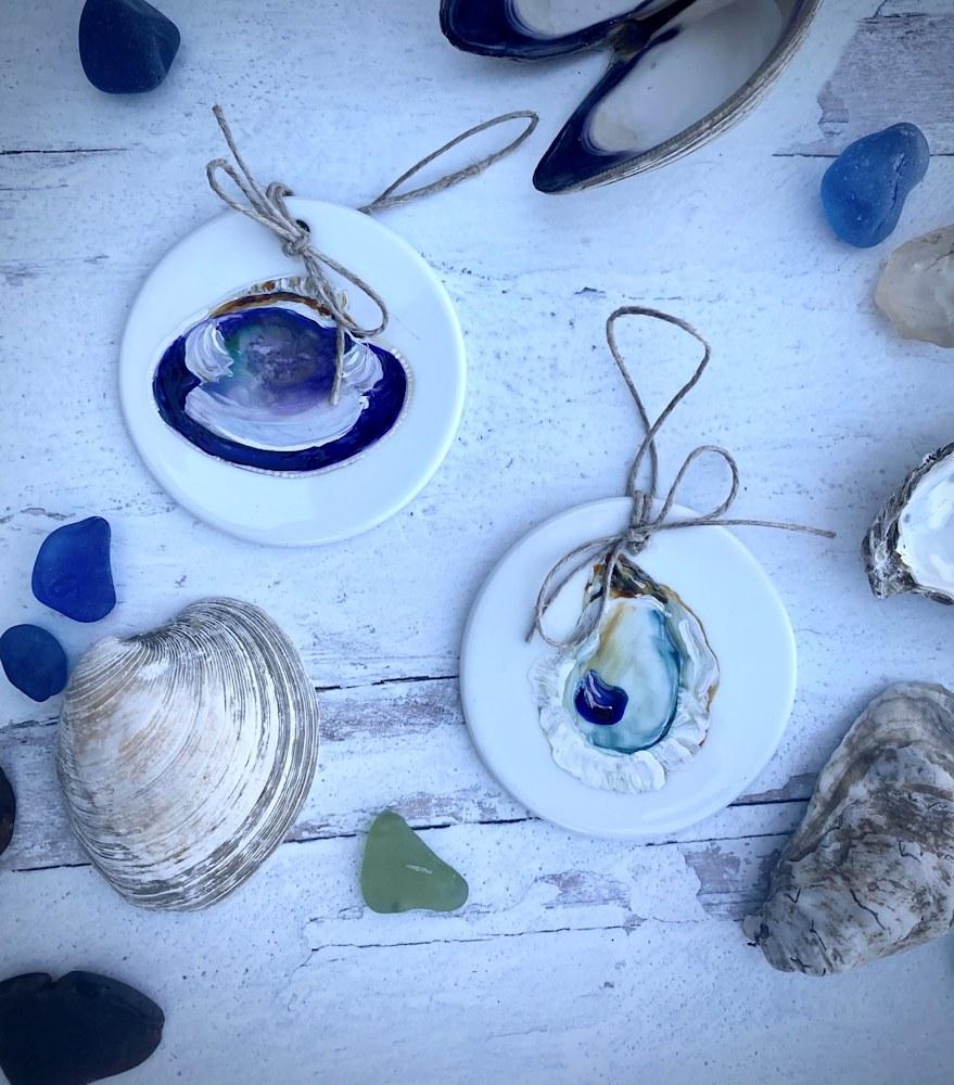 Clam shell ornament 3