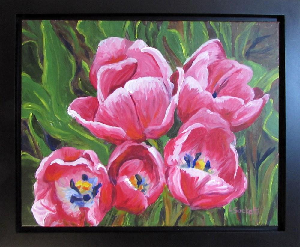 Tip toe through the tulips