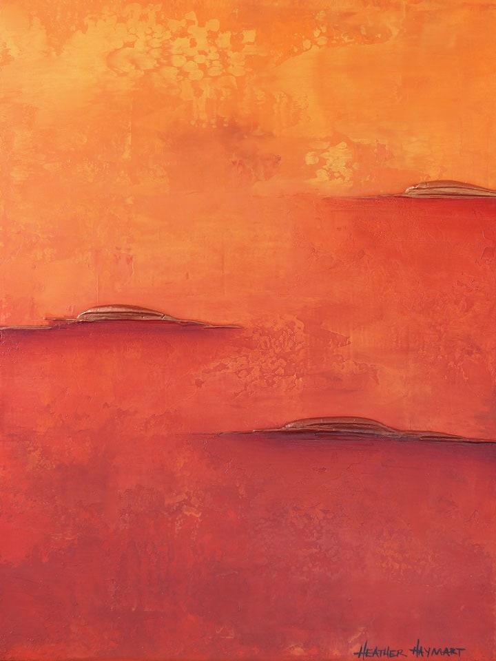 Rainbow Series Orange 5 by Heather Haymart sm