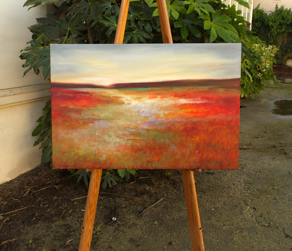 4479 on easel