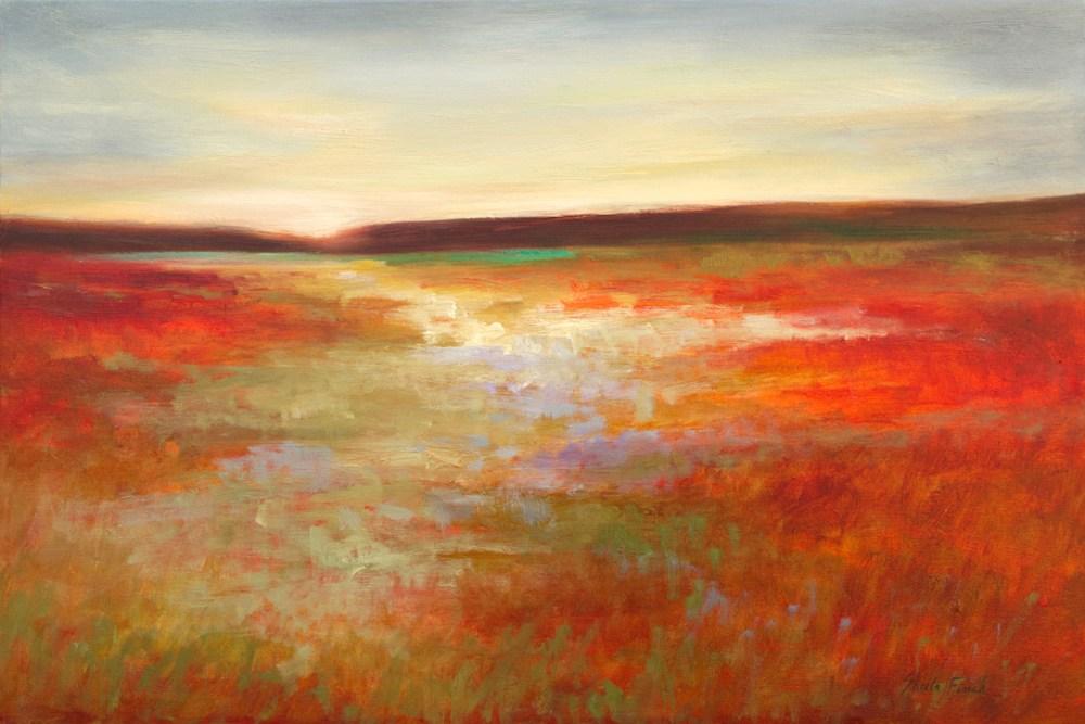 4479 Light Across the Meadow 20x30 oil