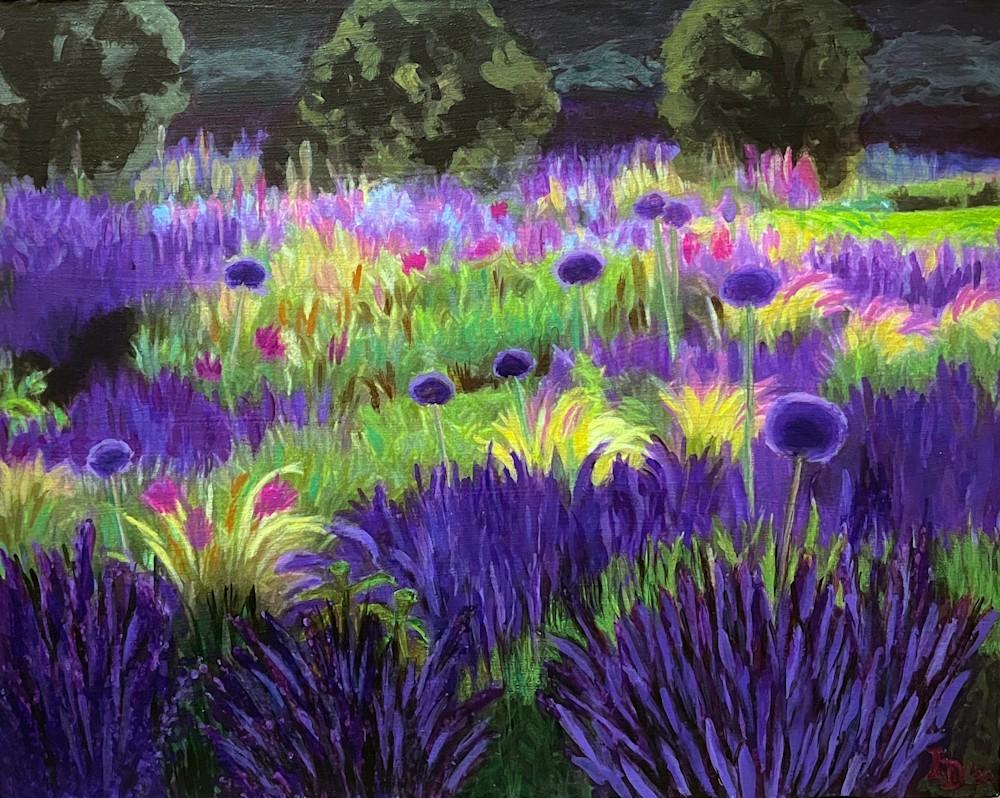Inna Dzhanibekova 13 Lavender and Allium Field 03 retake res