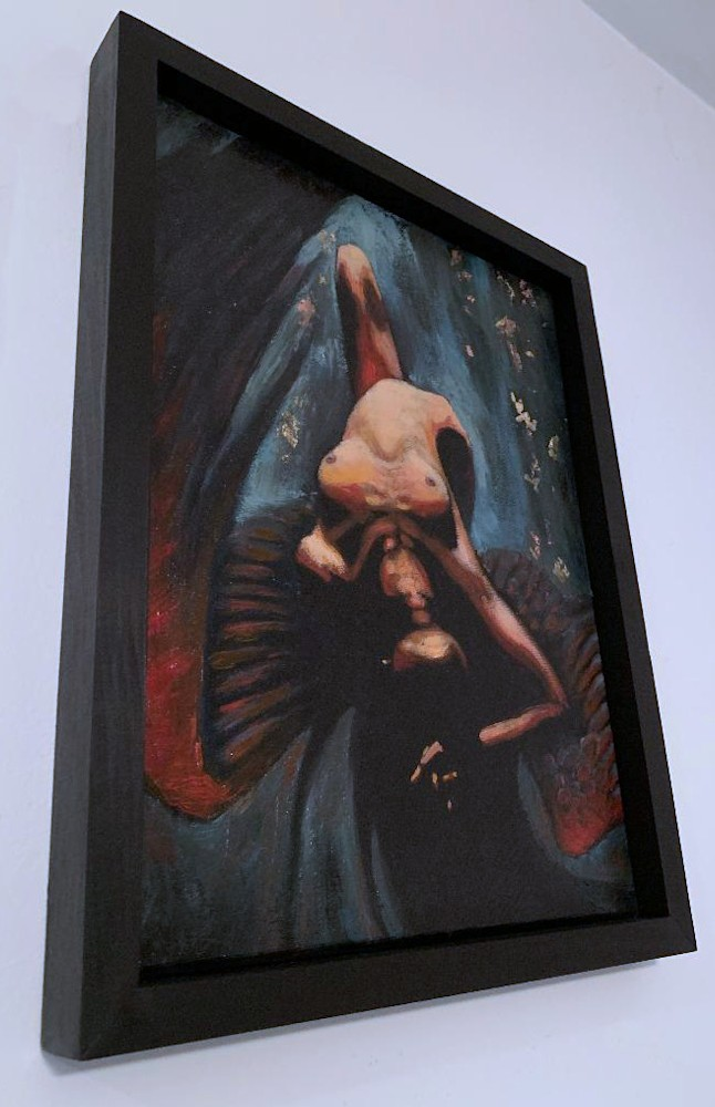 dark angel framed