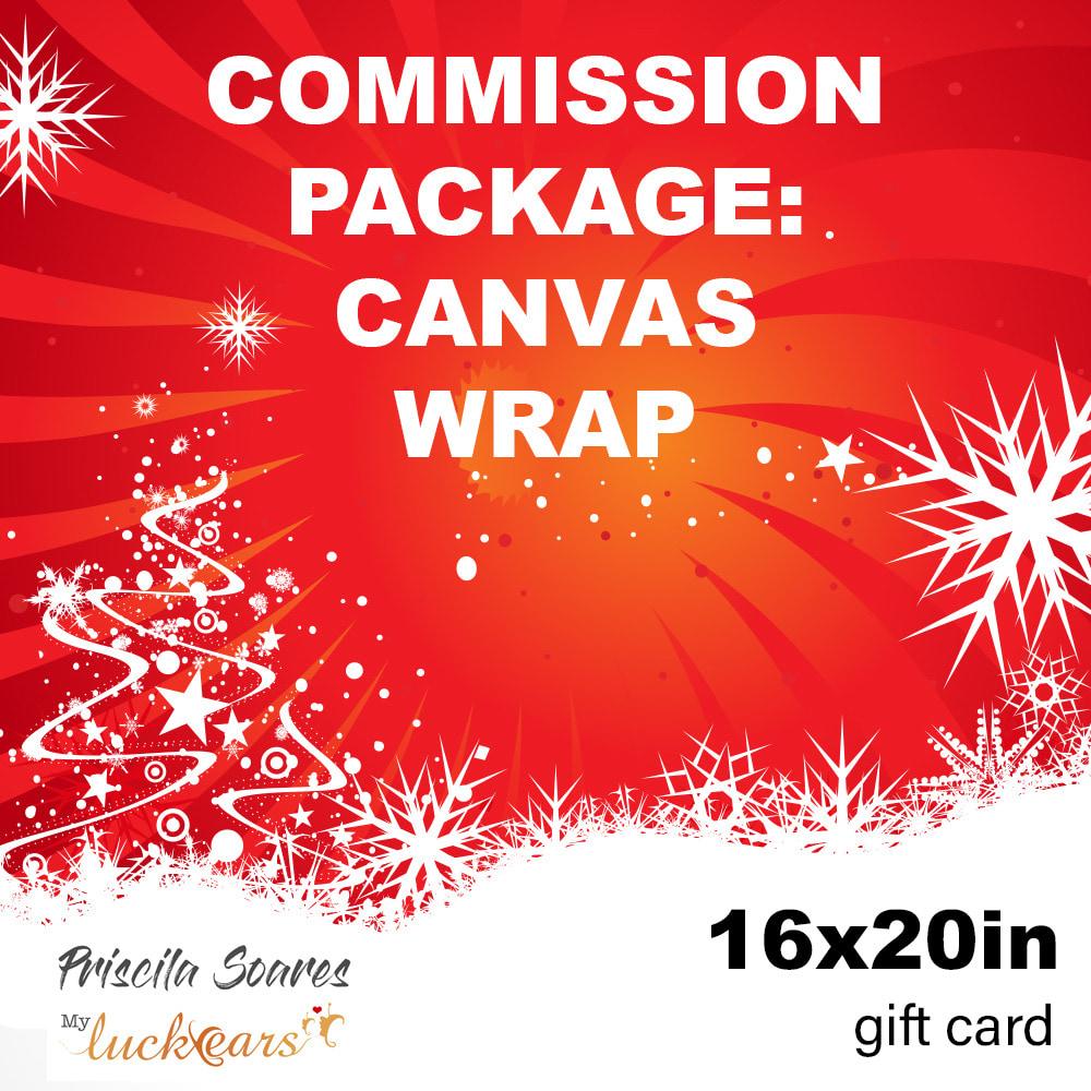 gift card priscila canvas 16x20