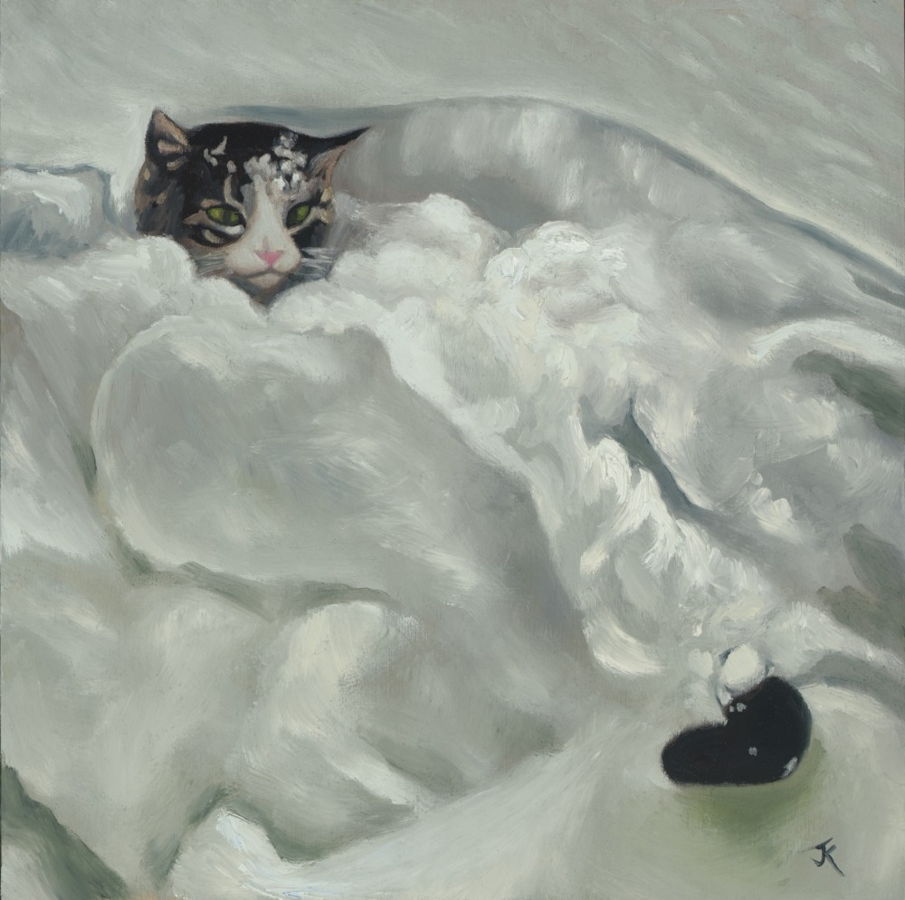 kitty in snow rgb