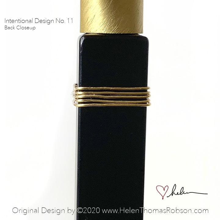 Intentional Design No 11 Back  Closeup
