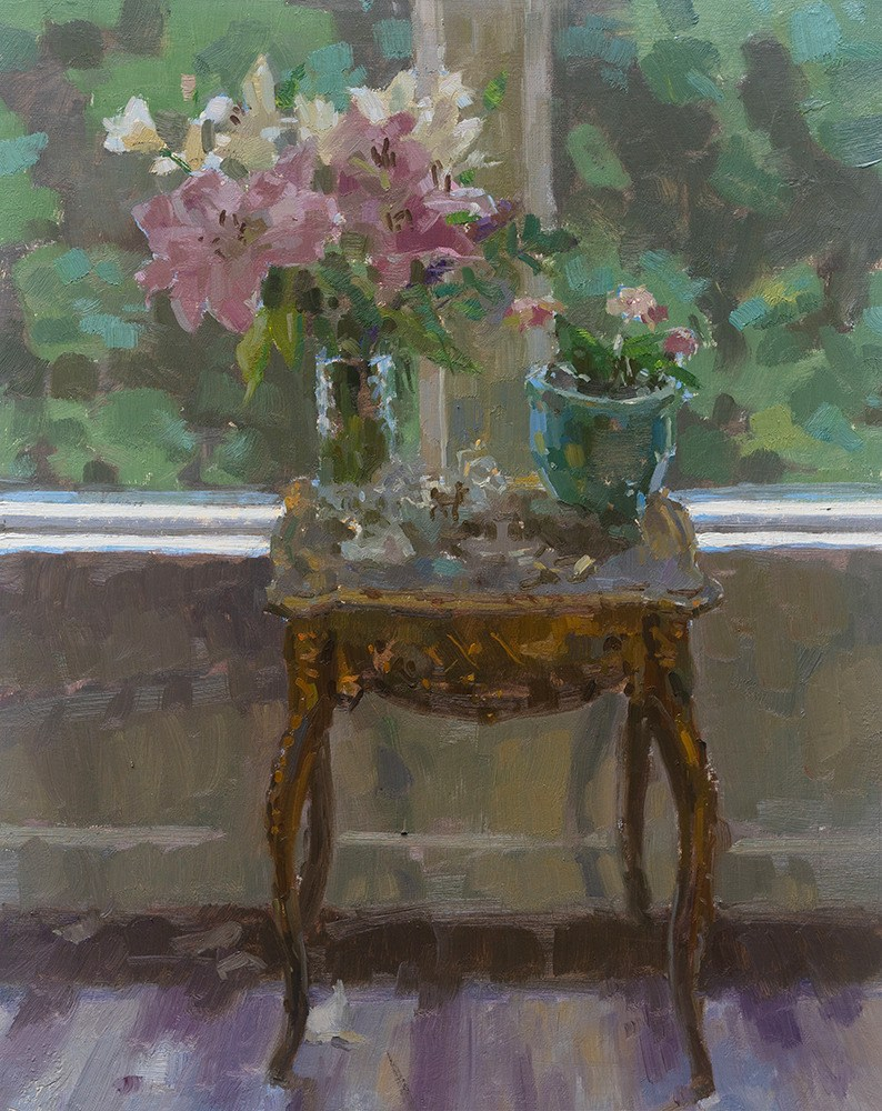 Coberly Lillies by the Window 1000