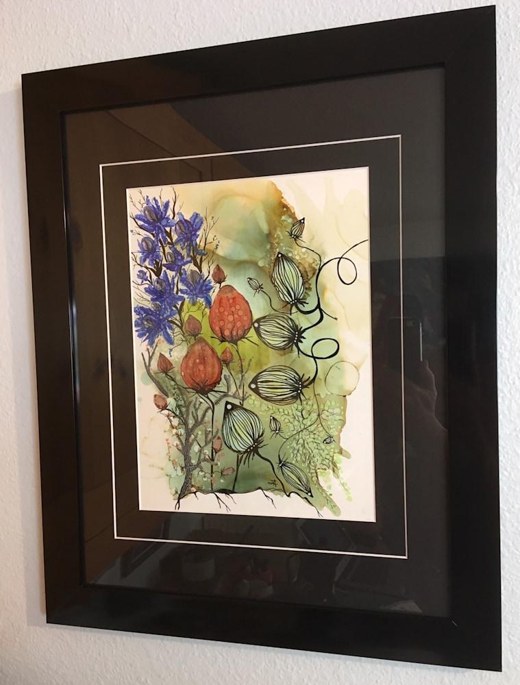 framed Alices thistle