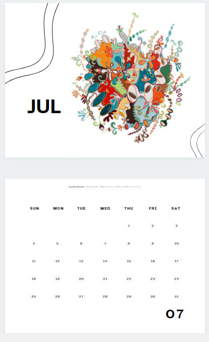 calendar 2021 mosser page example