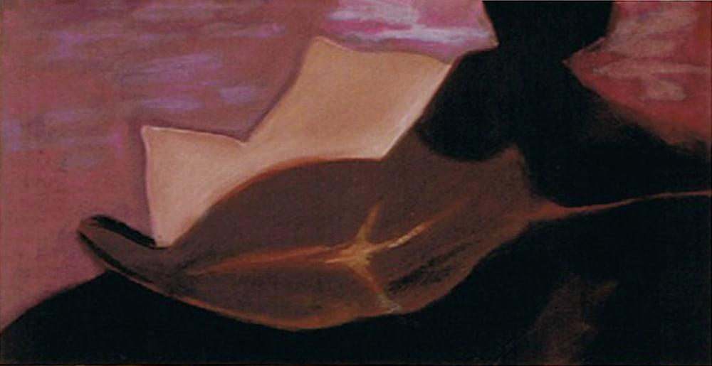 (#85) Reclining Nude 15X30