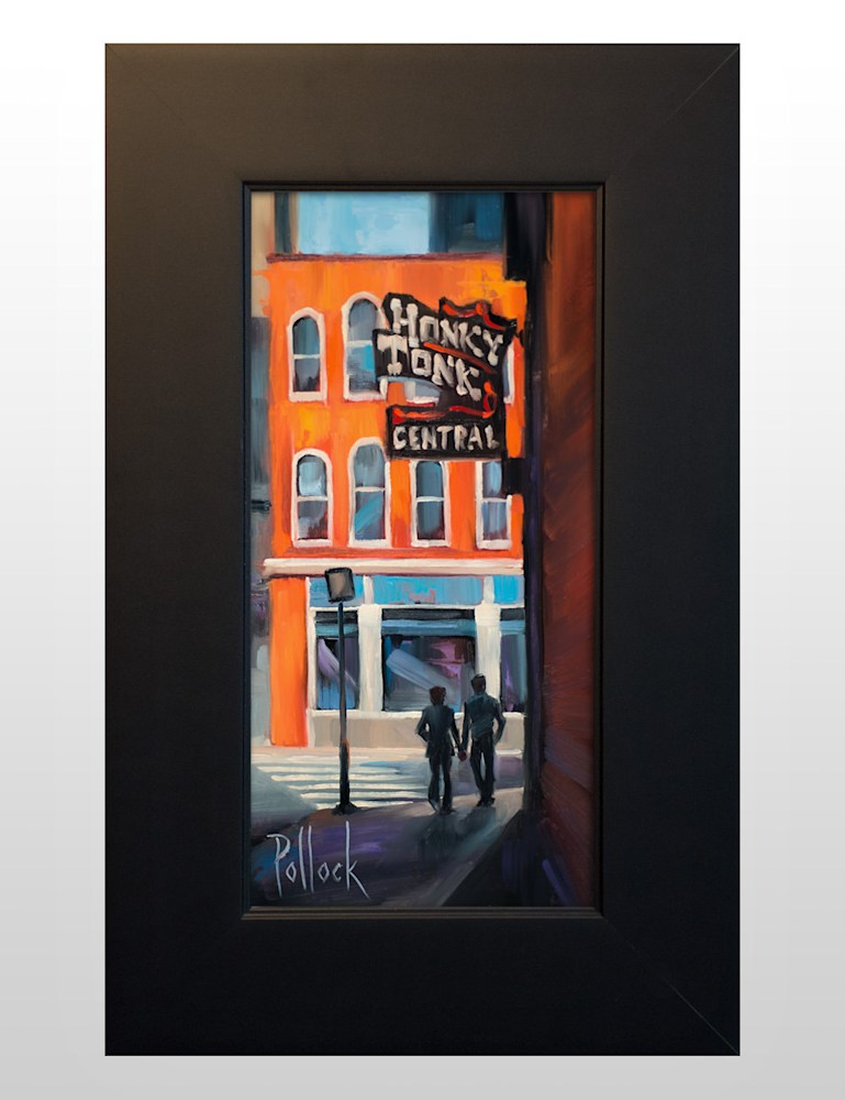 study honky tonk central framed 01