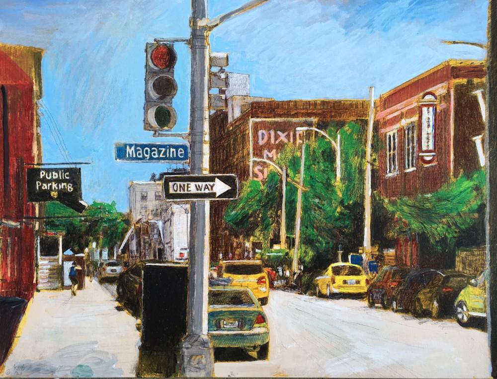 KObrienMagazineSt18x24Acrylic PrismacolorInk in Canvas$1600 2020