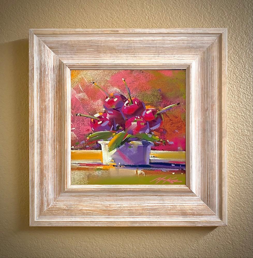 Cherry Bowl #2 natural frame