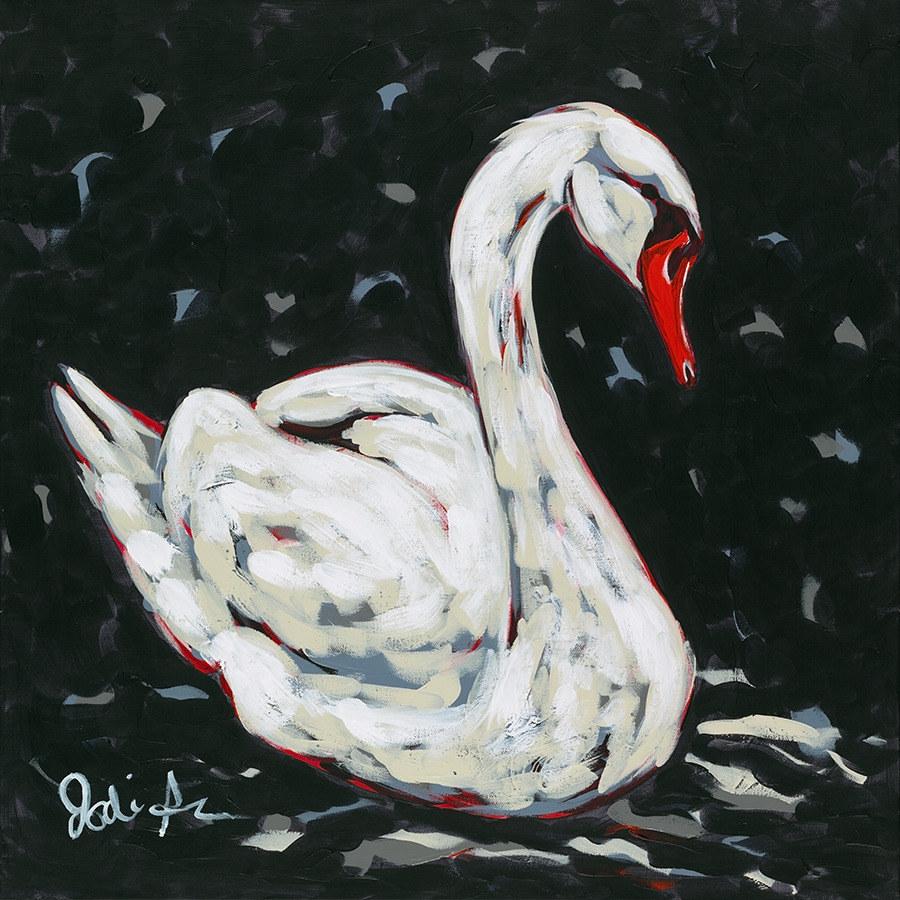 Jodi Augustine white swan