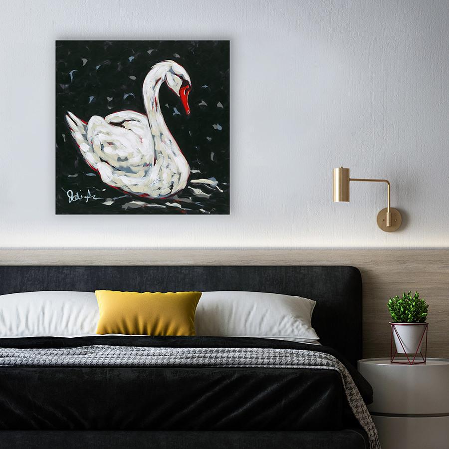 Jodi Augustine white swan mockup
