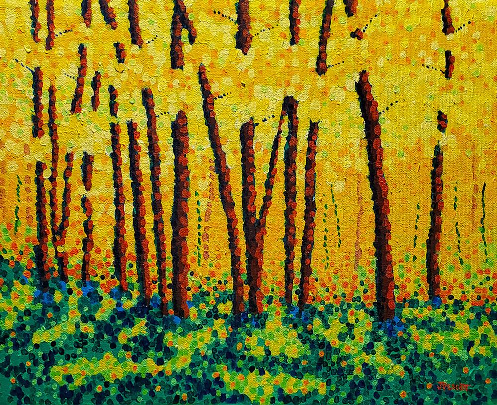 Pescott Autumn Afternoon 14x11