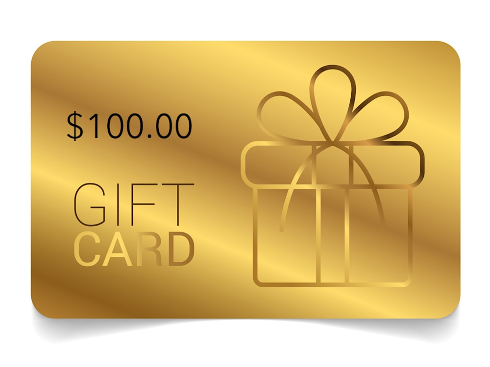 Giftcards 100