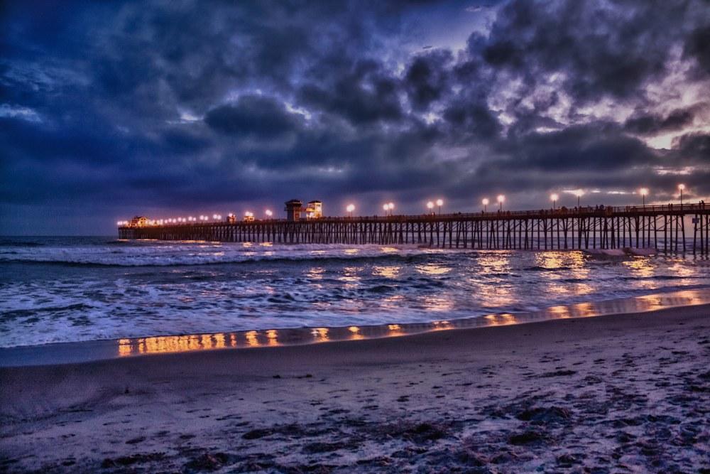 Oceanside Pier at Night (1 of 1)