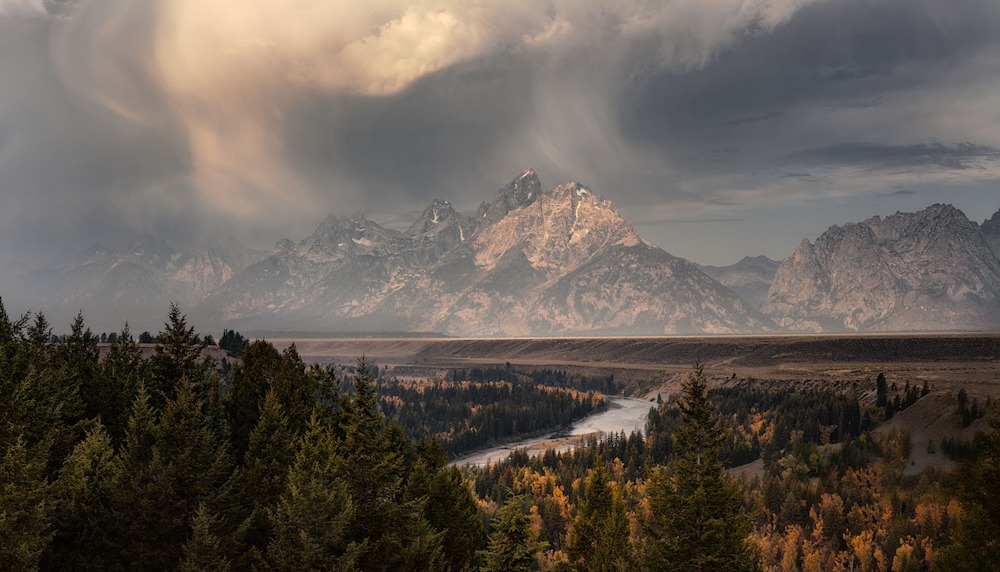Grand Teton   A Change in the Weather