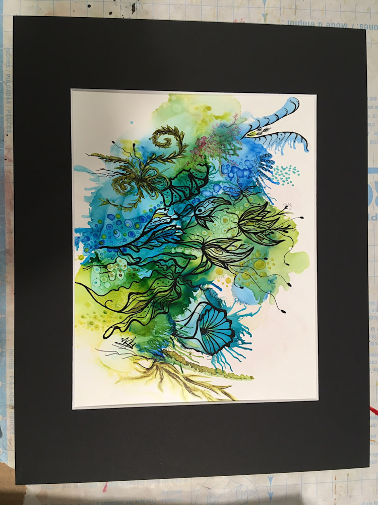 Exotic Nature matted